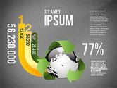 Environmental Sustainability Infographics Options#16