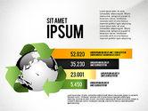 Environmental Sustainability Infographics Options#3