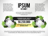 Environmental Sustainability Infographics Options#4