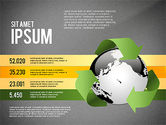 Environmental Sustainability Infographics Options#9
