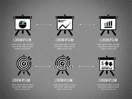 Startup Pitch Deck with Shapes, Slide 14, 03075, Presentation Templates — PoweredTemplate.com