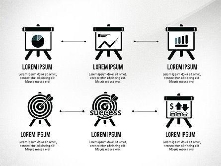 Startup Pitch Deck with Shapes, Slide 6, 03075, Presentation Templates — PoweredTemplate.com