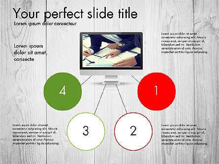 Modern Data Driven Presentation Report, Slide 2, 03080, Presentation Templates — PoweredTemplate.com