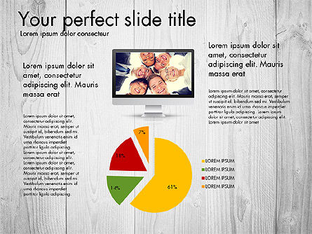 Modern Data Driven Presentation Report, Slide 4, 03080, Presentation Templates — PoweredTemplate.com