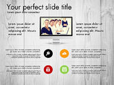 Presentation Templates: Modern Data Driven Presentation Report #03080