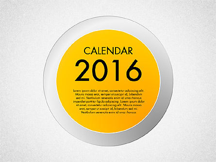 2016 Calendar, 03082, Timelines & Calendars — PoweredTemplate.com
