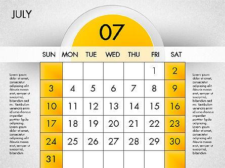 2016 Calendar, Slide 8, 03082, Timelines & Calendars — PoweredTemplate.com