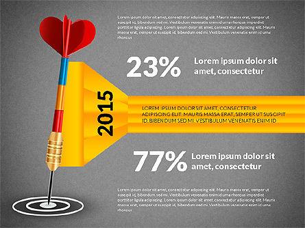Options and Goal, Slide 11, 03083, Process Diagrams — PoweredTemplate.com