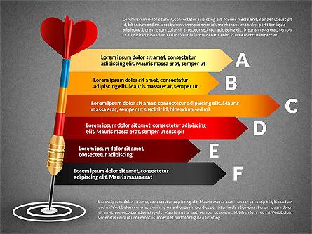 Options and Goal, Slide 12, 03083, Process Diagrams — PoweredTemplate.com