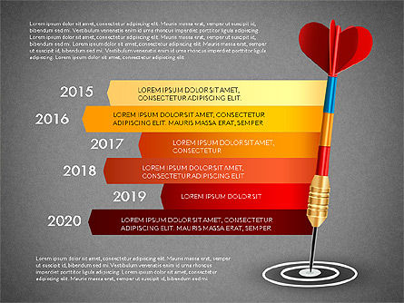 Options and Goal, Slide 16, 03083, Process Diagrams — PoweredTemplate.com