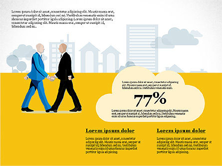 Doing Business Infographics with Data Driven Charts, Slide 8, 03087, Infographics — PoweredTemplate.com
