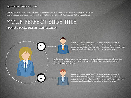 Business Circle, Slide 11, 03088, Business Models — PoweredTemplate.com