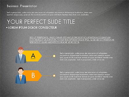 Business Circle, Slide 12, 03088, Business Models — PoweredTemplate.com