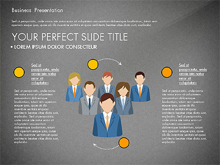 Business Circle, Slide 13, 03088, Business Models — PoweredTemplate.com