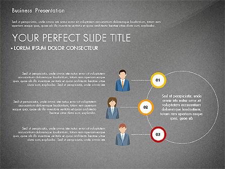 Business Circle, Slide 14, 03088, Business Models — PoweredTemplate.com