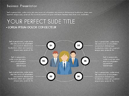Business Circle, Slide 15, 03088, Business Models — PoweredTemplate.com