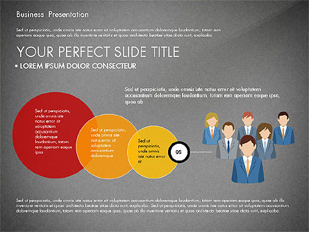 Business Circle, Slide 16, 03088, Business Models — PoweredTemplate.com
