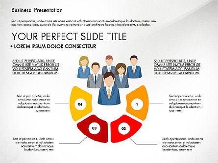 Business Circle, Slide 2, 03088, Business Models — PoweredTemplate.com