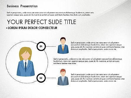 Business Circle, Slide 3, 03088, Business Models — PoweredTemplate.com