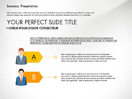 Business Circle, Slide 4, 03088, Business Models — PoweredTemplate.com