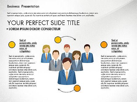 Business Circle, Slide 5, 03088, Business Models — PoweredTemplate.com