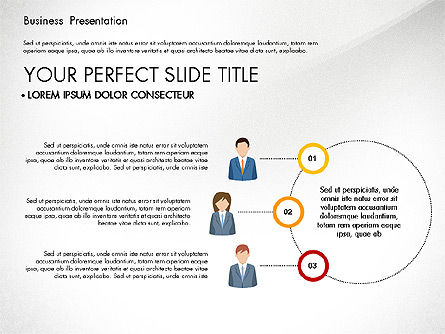 Business Circle, Slide 6, 03088, Business Models — PoweredTemplate.com