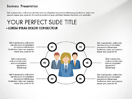 Business Circle, Slide 7, 03088, Business Models — PoweredTemplate.com