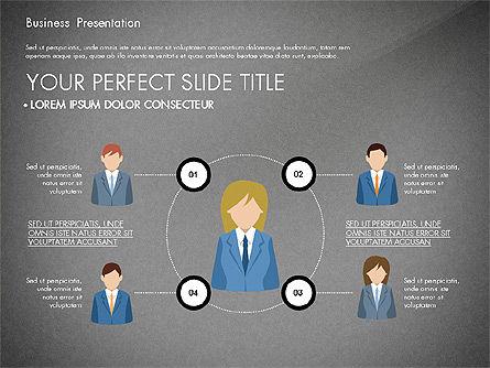 Business Circle, Slide 9, 03088, Business Models — PoweredTemplate.com