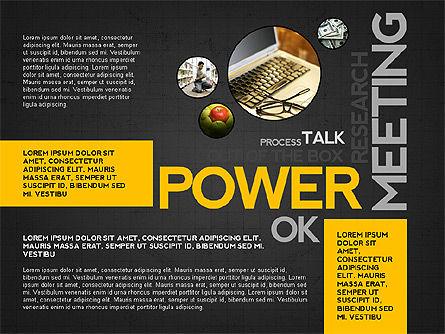 Positive Motivation Presentation Template, Slide 10, 03089, Presentation Templates — PoweredTemplate.com