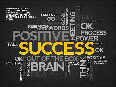 Positive Motivation Presentation Template, Slide 9, 03089, Presentation Templates — PoweredTemplate.com