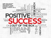 Presentation Templates: Motivazione positiva modello di presentazione #03089