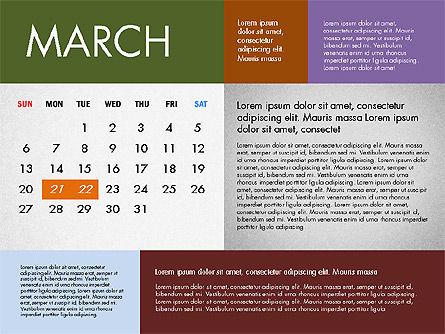 2016 Calendar for PowerPoint, Slide 3, 03090, Timelines & Calendars — PoweredTemplate.com