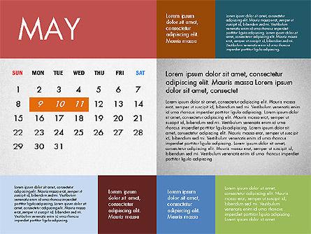 2016 Calendar for PowerPoint, Slide 5, 03090, Timelines & Calendars — PoweredTemplate.com