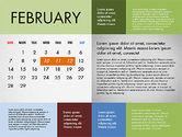 2016 Calendar for PowerPoint#2