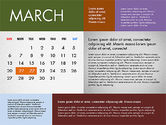 2016 Calendar for PowerPoint#3