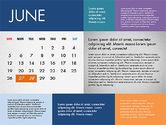 2016 Calendar for PowerPoint#6
