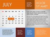 2016 Calendar for PowerPoint#7