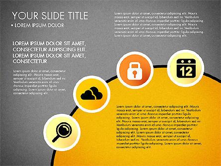 Business Circle with Icons, Slide 12, 03092, Presentation Templates — PoweredTemplate.com