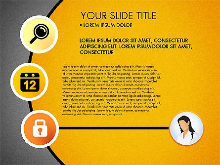 Business Circle with Icons, Slide 14, 03092, Presentation Templates — PoweredTemplate.com