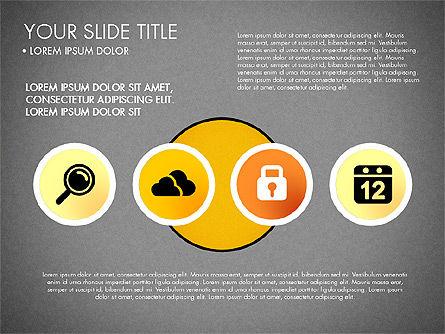 Business Circle with Icons, Slide 16, 03092, Presentation Templates — PoweredTemplate.com