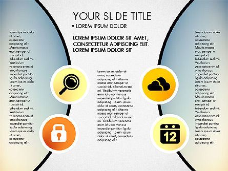 Business Circle with Icons, Slide 5, 03092, Presentation Templates — PoweredTemplate.com