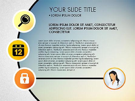 Business Circle with Icons, Slide 6, 03092, Presentation Templates — PoweredTemplate.com