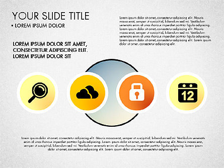 Business Circle with Icons, Slide 8, 03092, Presentation Templates — PoweredTemplate.com