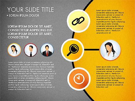 Business Circle with Icons, Slide 9, 03092, Presentation Templates — PoweredTemplate.com
