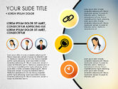 Presentation Templates: Business Circle with Icons #03092