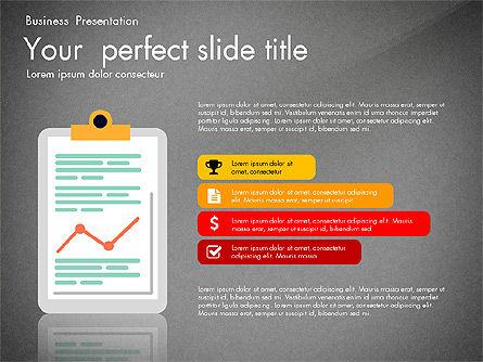 Newsmaking Presentation Template, Slide 10, 03093, Presentation Templates — PoweredTemplate.com