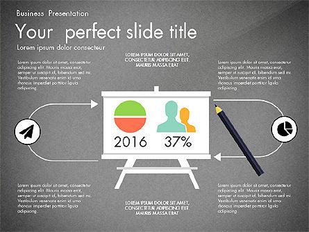 Newsmaking Presentation Template, Slide 11, 03093, Presentation Templates — PoweredTemplate.com