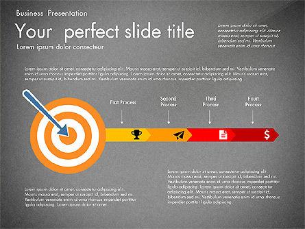 Newsmaking Presentation Template, Slide 12, 03093, Presentation Templates — PoweredTemplate.com