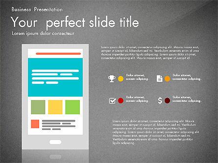 Newsmaking Presentation Template, Slide 15, 03093, Presentation Templates — PoweredTemplate.com