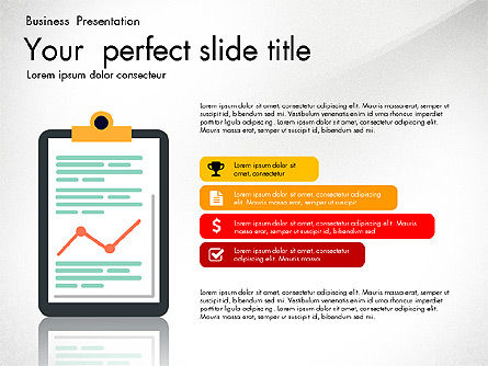 Newsmaking Presentation Template, Slide 2, 03093, Presentation Templates — PoweredTemplate.com